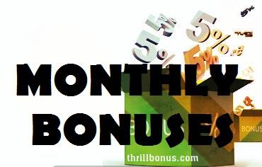 casino monthly bonus